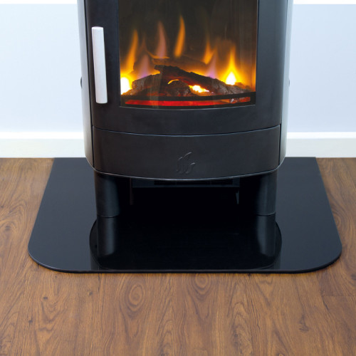 Rectangular Glass Hearth (6mm)
